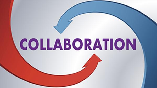 Collaboration word image